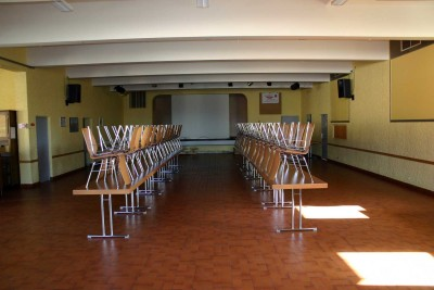 Salle des Fêtes : vue scène