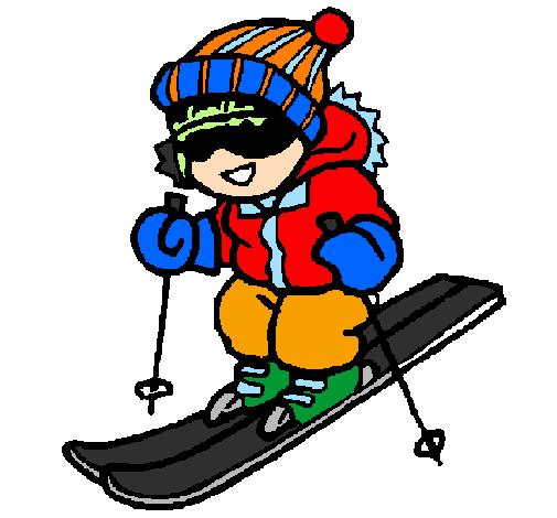 Skieur Volmerange Les Mines