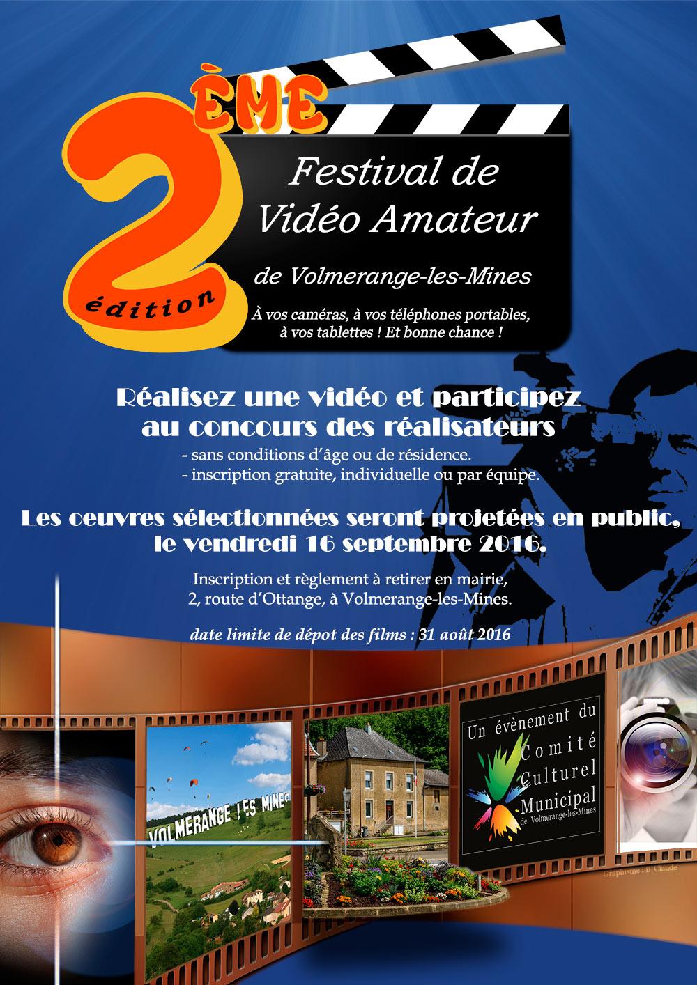 Deuxième édition du Festival de Vidéo Amateur de Volmerange