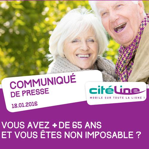 Communiqué Citéline