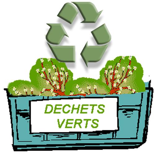 Benne pour les déchets verts