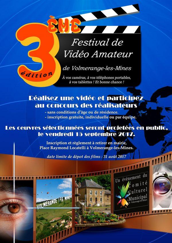 Troisième édition du Festival de Vidéo Amateur de Volmerange