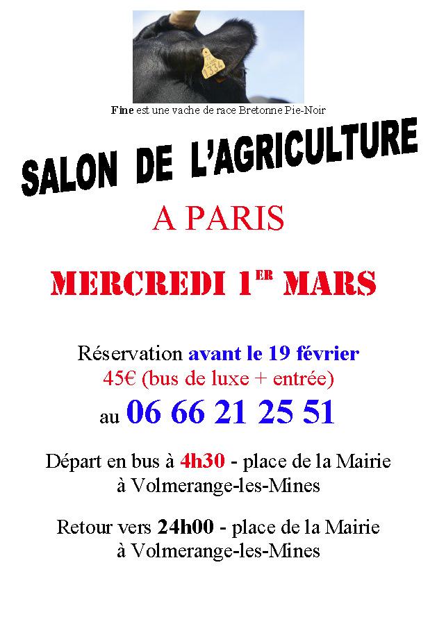Salon de l 39 agriculture 2017 volmerange les for Programme salon de l agriculture 2017