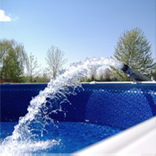 Volmerange les mines for Remplissage automatique piscine