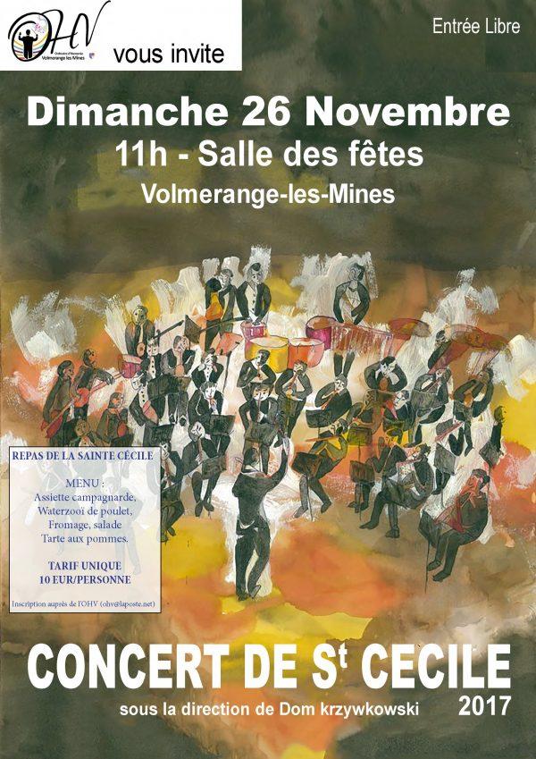 Concert de Sainte Cécile