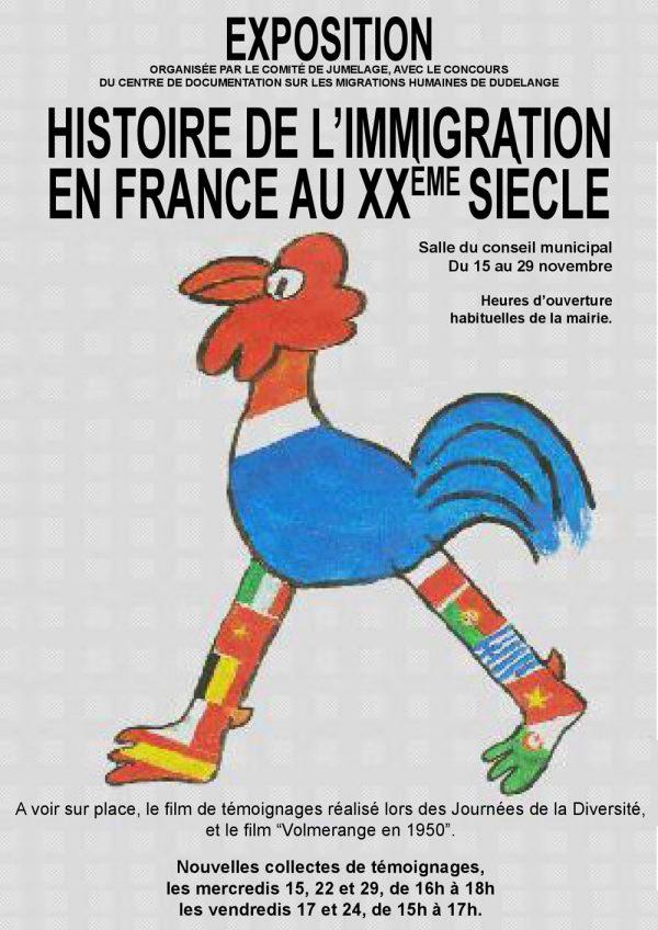 Histoire de l'immigration au 20ème siècle en France
