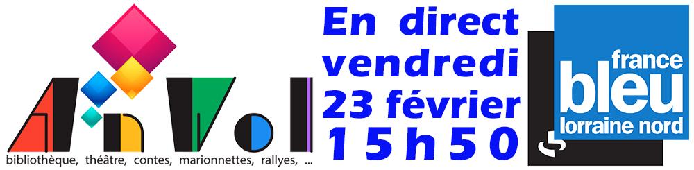 AnVol chez France Bleu le 23-02-2018