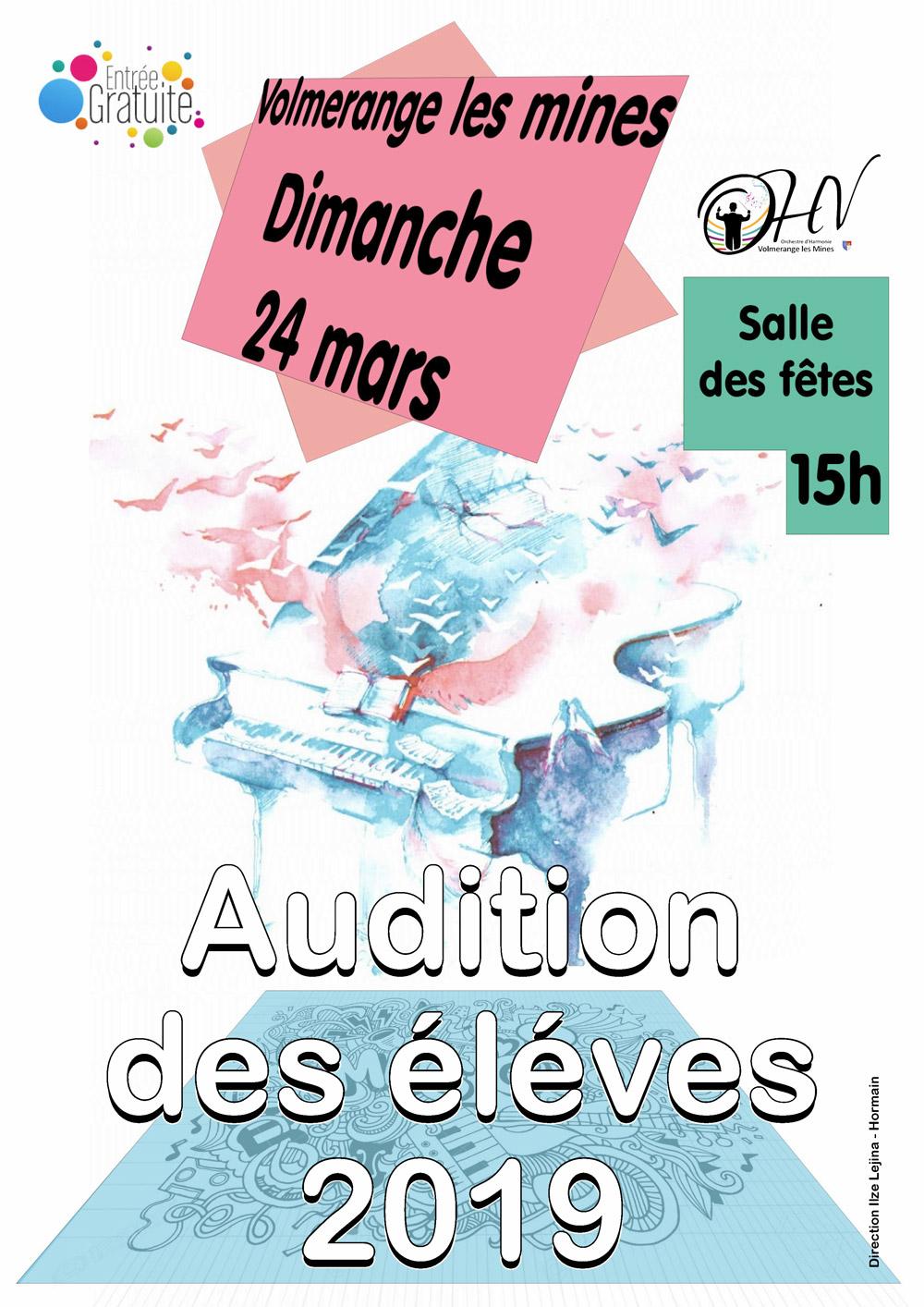 Affiche AuditionPrintemps2019