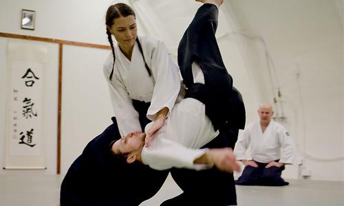 Journée Internationale des femmes à l'Aïkido club Volmerange