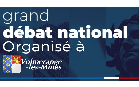 Grand débat national organisé à Volmerange-les-Mines