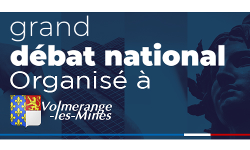 Réunion publique : Grand débat national