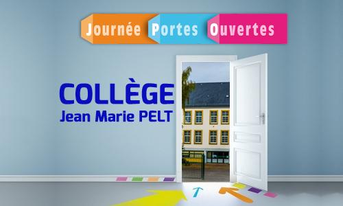 Portes ouvertes au collège Jean Marie PELT