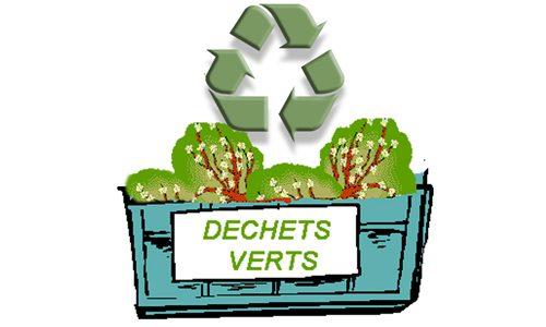 La benne à déchets verts de retour !