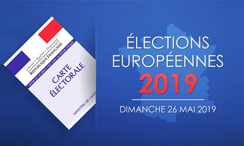 Élections des représentants au parlement européen