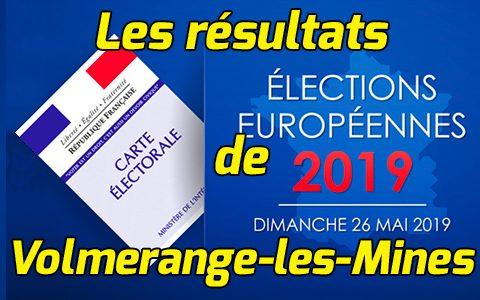 Européennes : Résultats Volmerange-les-Mines