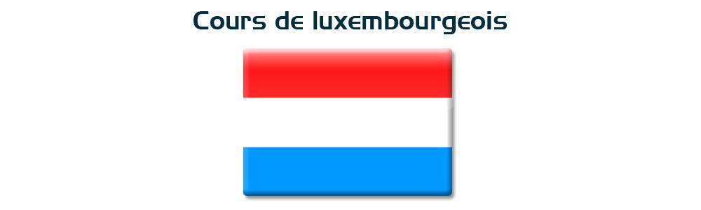 Cours de luxembourgeois deuxième année A1.2