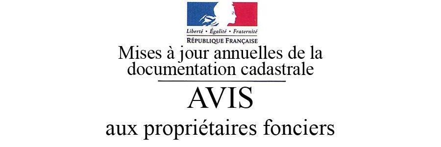 """Résultat de recherche d'images pour """"AVIS AUX PROPRIÉTAIRES FONCIERS"""""""