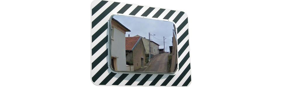 Un miroir pour votre sécurité !