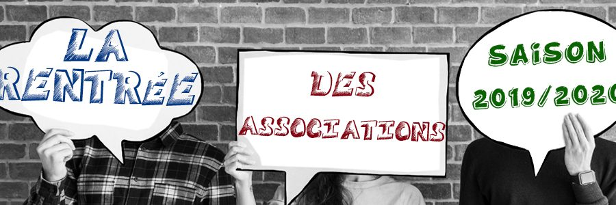 La rentré des associations 2019/2020