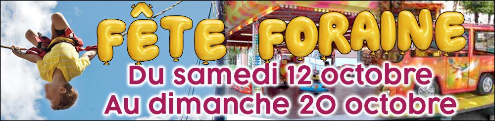 Banniere Fete Foraine 2019