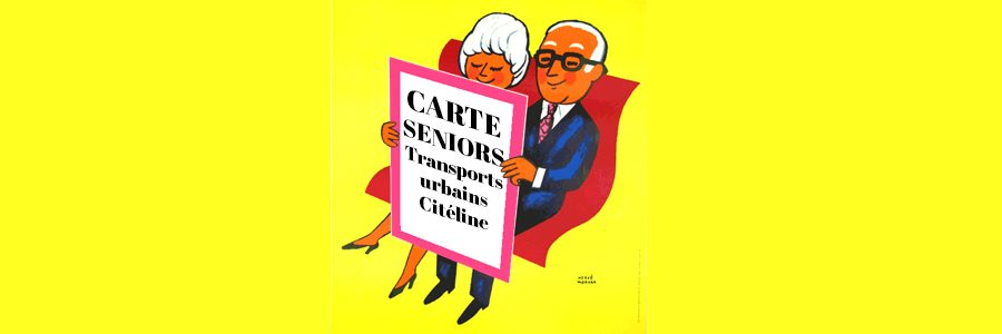 Carte d'abonnement seniors pour les transports urbains