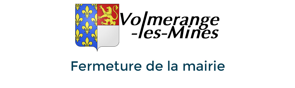 Logo Fermeture mairie