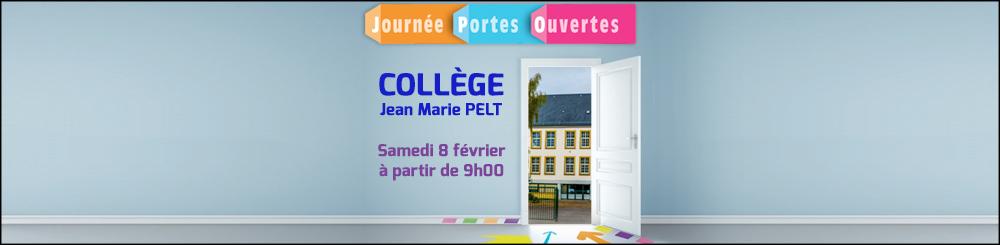 Portes ouvertes collège Jean-Marie Pelt