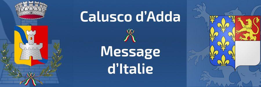 Message d'Italie