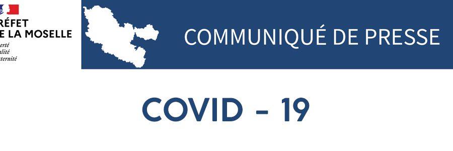 Communiqué de presse Covid-19