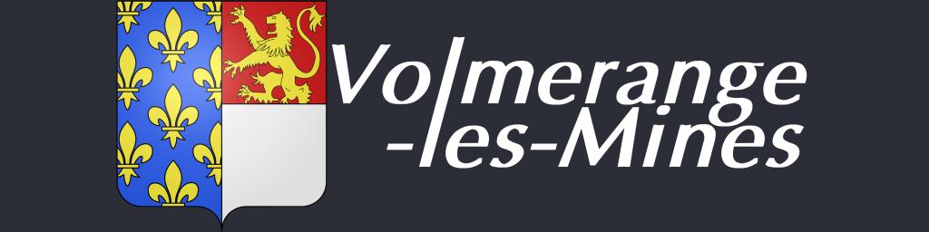 Logo Volme Blason Fond Foncé