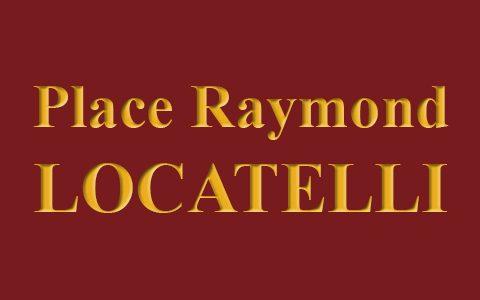 Sur la place Raymond Locatelli