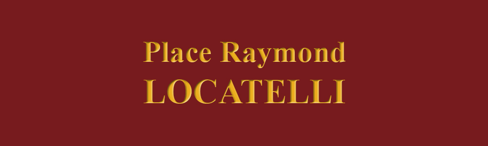 Sur la place Raymond Locatelli
