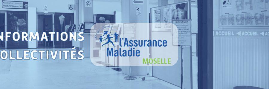 Modalités d'accueil à la CPAM de Moselle