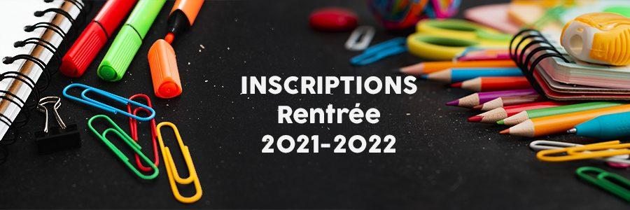 Inscriptions à l'école maternelle pour la rentrée 2021
