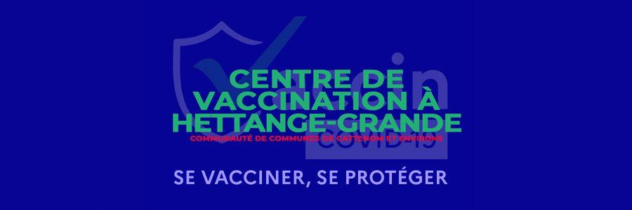 Centre de vaccination à Hettange