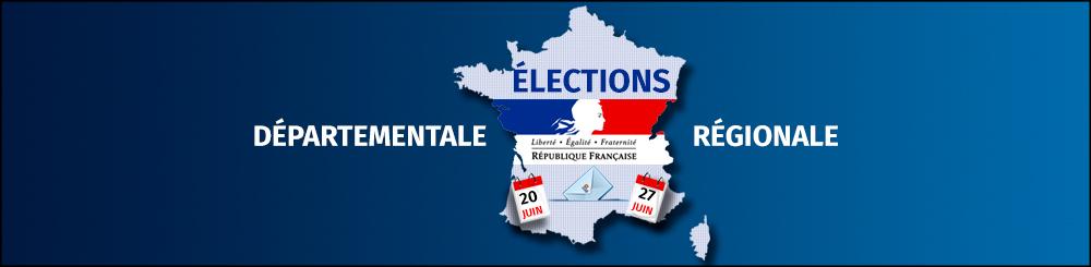 Élections departementale et régionale