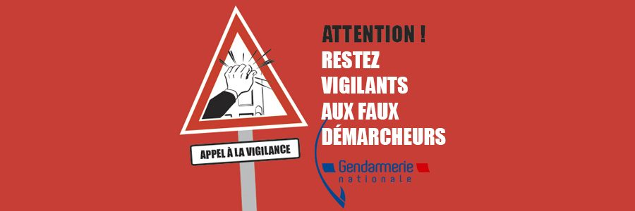 Démarchage à domicile : infos gendarmerie