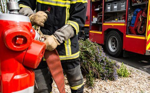 Contrôle des poteaux d'incendie