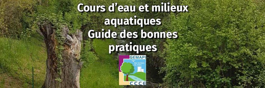 Cours d'eau et milieux aquatiques : guide des bonnes pratiques