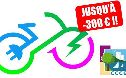 CCCE : Aide à l'achat d'un vélo électrique