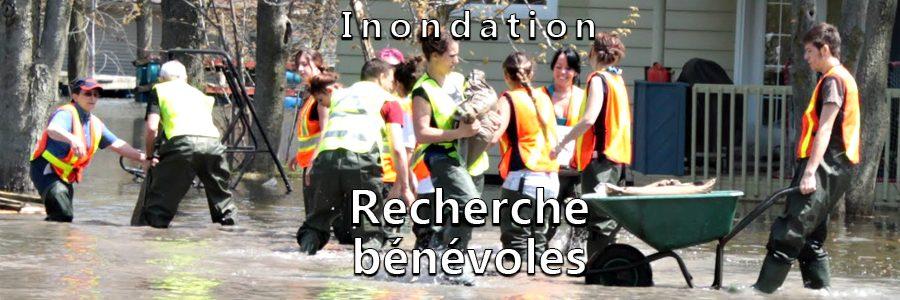 Inondation – Recherche de bénévoles
