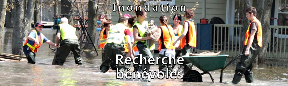 Inondation - Recherche de bénévoles
