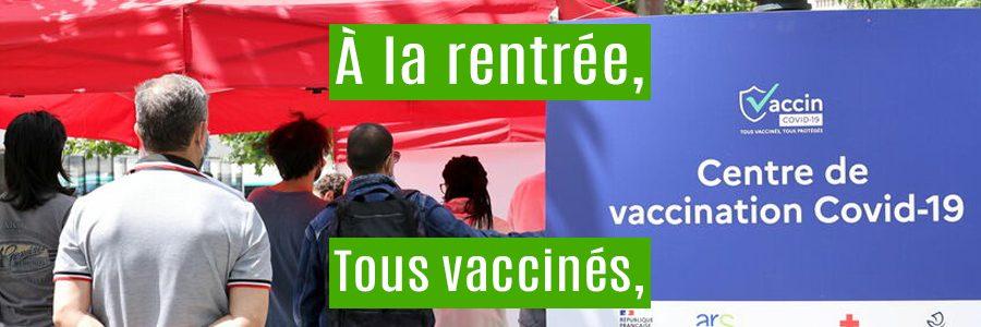 Opération de vaccination