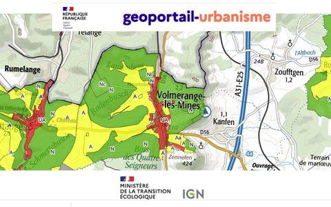 Consultez le PLU sur le Géoportail de l'Urbanisme